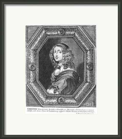 Christina (1626-1689) Framed Print By Granger