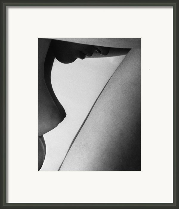 Human Form Abstract Body Part  Framed Print By Anonymous
