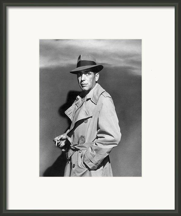 Humphrey Bogart (1899-1957) Framed Print By Granger