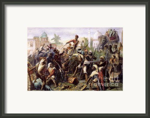 India: Sepoy Mutiny, 1857 Framed Print By Granger