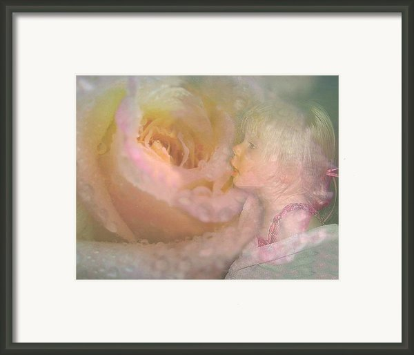 Innocent Beauty Framed Print By Shirley Sirois