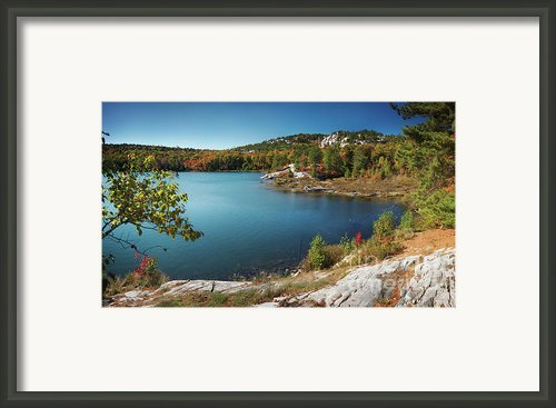 Killarney Provincial Park In Fall Framed Print By Oleksiy Maksymenko