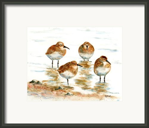 4 Little Pipers Framed Print By Marsha Elliott