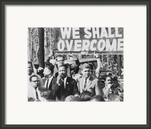 Martin Luther King, Jr. 1929-1968 Framed Print By Everett