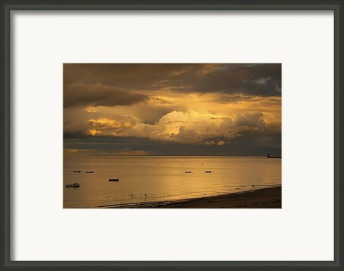 Sunderland, Tyne And Wear, England Framed Print By John Short