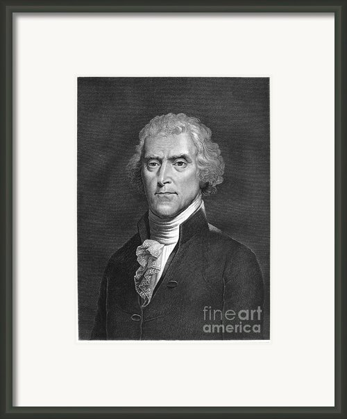 Thomas Jefferson Framed Print By Granger