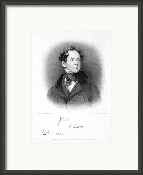 Thomas Moore (1779-1852) Framed Print By Granger