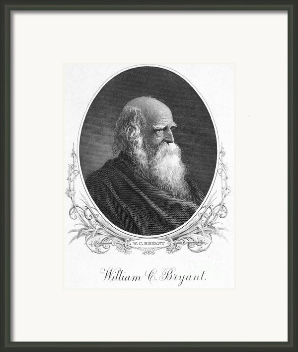 William Cullen Bryant Framed Print By Granger