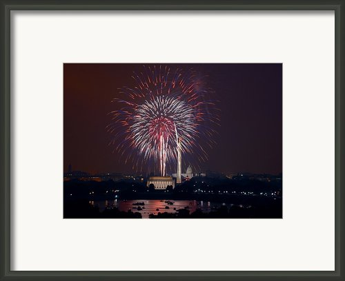 4th Of July, 2008 Framed Print By Granger