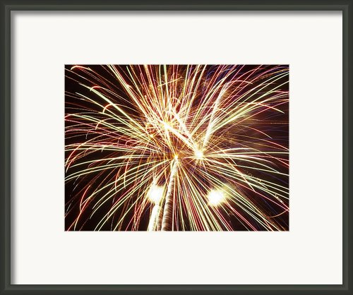 4th Of July Fireworks Framed Print By Joe Carini - Printscapes