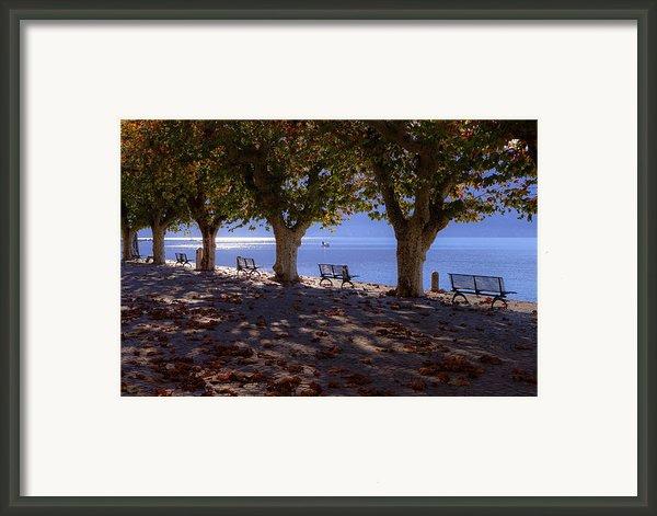 Ascona - Lake Maggiore Framed Print By Joana Kruse