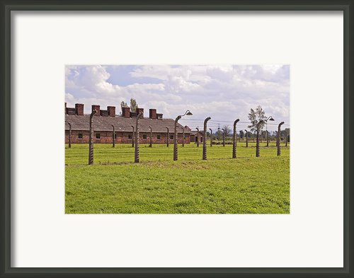 Auschwitz Birkenau Concentration Camp. Framed Print By Fernando Barozza