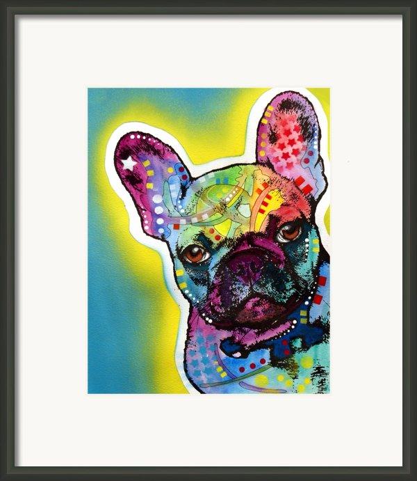 French Bulldog Framed Print By Dean Russo