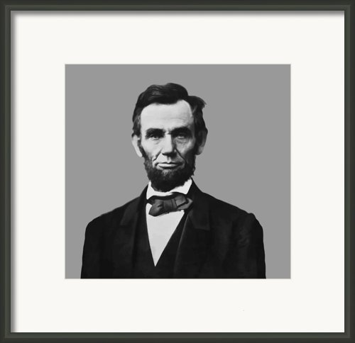 President Lincoln Framed Print By War Is Hell Store