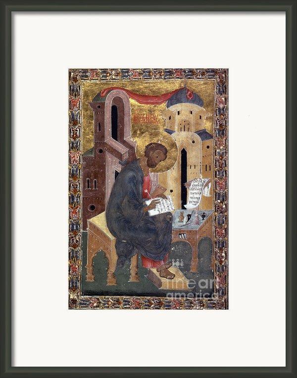 Saint Mark Framed Print By Granger