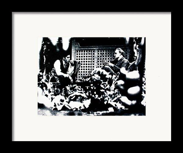 The Godfather Framed Print By Luis Ludzska