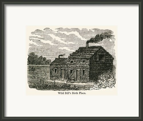 Wild Bill Hickok (1837-1876) Framed Print By Granger