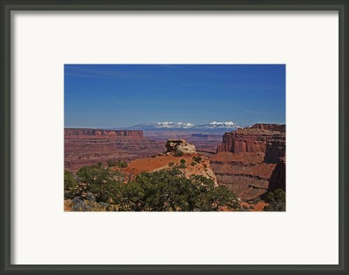 Canyonlands National Park Framed Print By Mark Smith