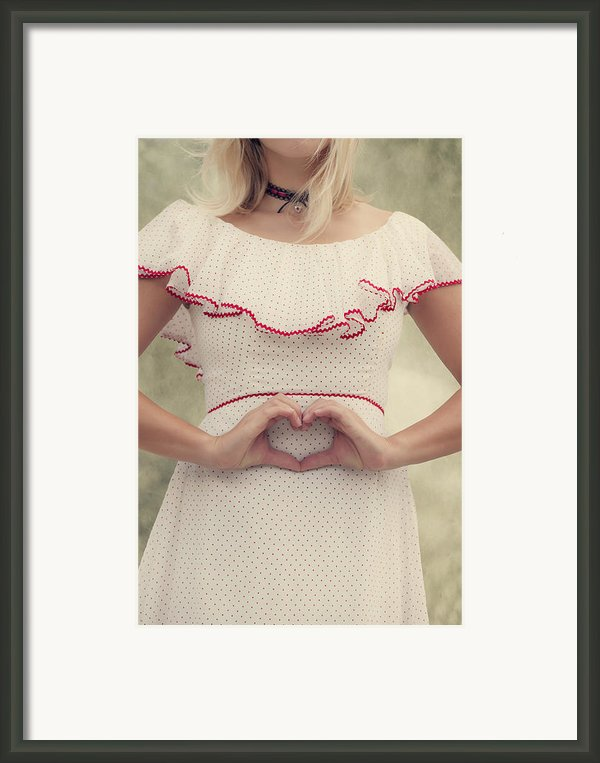 Heart Framed Print By Joana Kruse