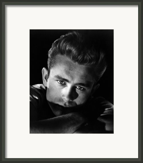 Rebel Without A Cause, James Dean, 1955 Framed Print By Everett
