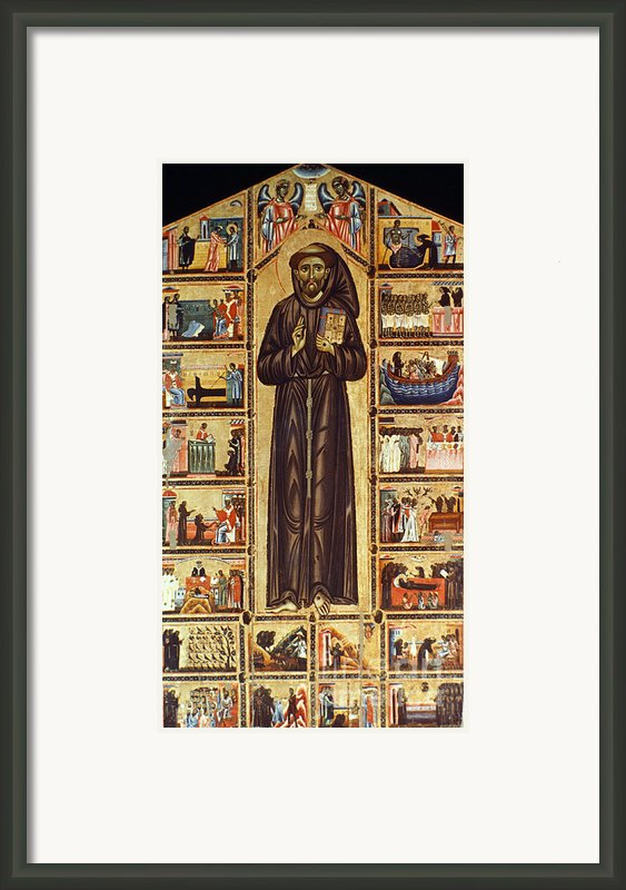 St Francis Of Assisi Framed Print By Granger