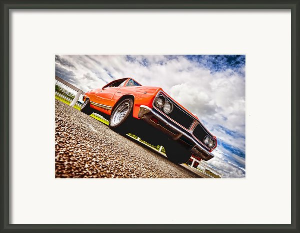 65 Chevrolet Acadian Framed Print By Phil