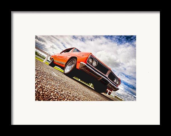 65 Chevrolet Acadian Framed Print By Phil
