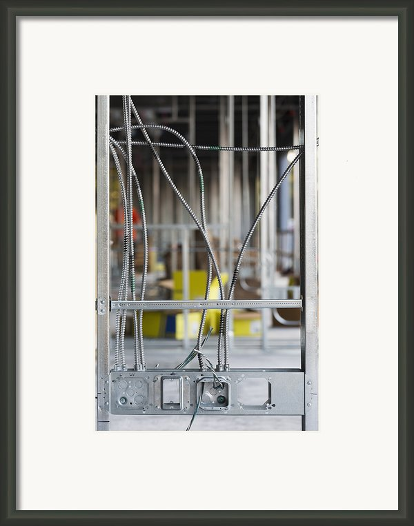 Commercial Building Under Construction Framed Print By Don Mason