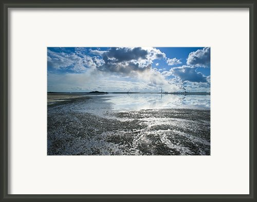 Oil Industry Pollution Framed Print By David Nunuk