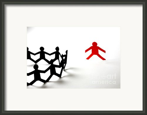 Conceptual Situation Framed Print By Photo Researchers, Inc.