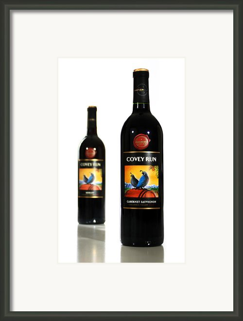 Covey Run Wines Framed Print By Marius Sipa
