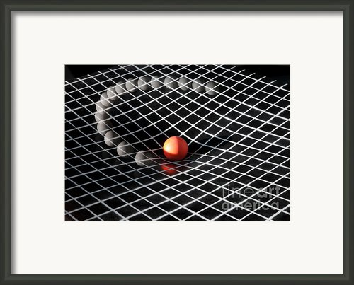 Gravity Simulation Framed Print By Ted Kinsman