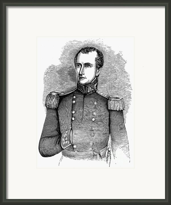 John Ellis Wool (1784-1869) Framed Print By Granger
