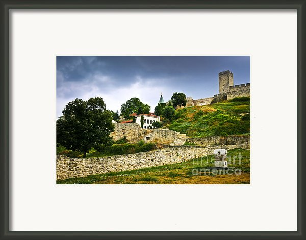 Kalemegdan Fortress In Belgrade Framed Print By Elena Elisseeva