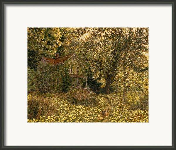 Primrose Path Framed Print By Doug Kreuger