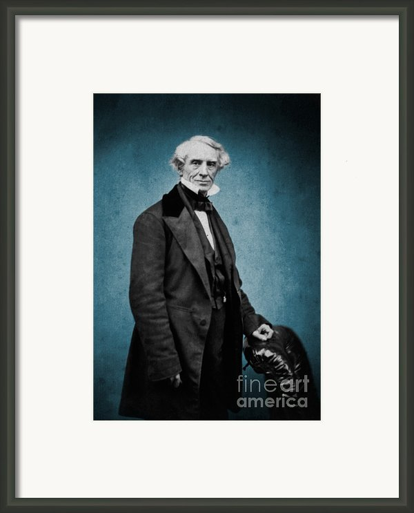 Samuel Morse, American Inventor Framed Print By Science Source