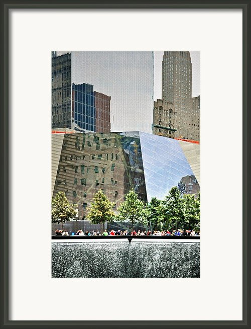 9/11 Memorial Framed Print By Gwyn Newcombe