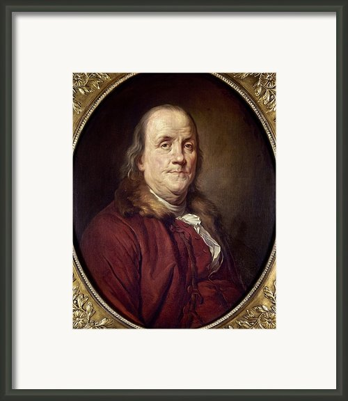 Benjamin Franklin (1706-1790) Framed Print By Granger