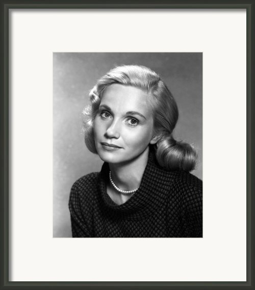 Eva Marie Saint, Ca. 1950s Framed Print By Everett
