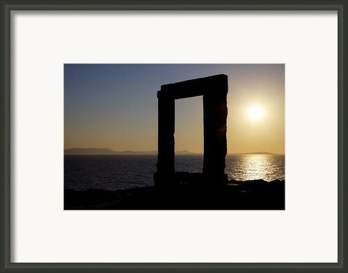 Naxos - Cyclades - Greece Framed Print By Joana Kruse