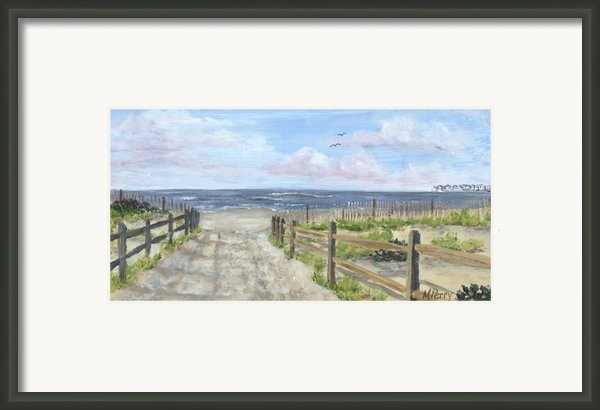 92nd Street Framed Print By Margie Perry