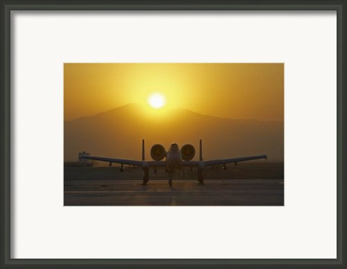 A-10 Warthog Framed Print By Tim Grams