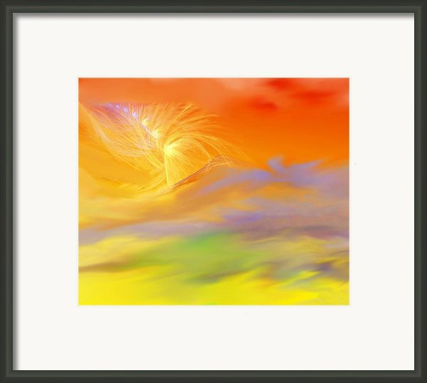 A Band Of Angels Coming After Me Framed Print By David Lane