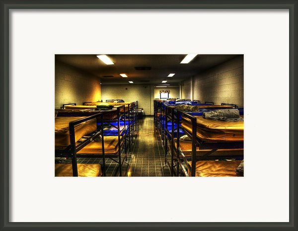 A Bed For The Night Framed Print By Dan Stone