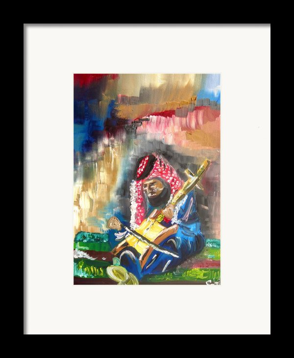 A Bedouin Life Framed Print By Sabrina Phillips