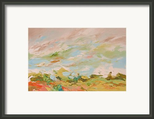 A Bit Of Heaven Framed Print By Linda Monfort