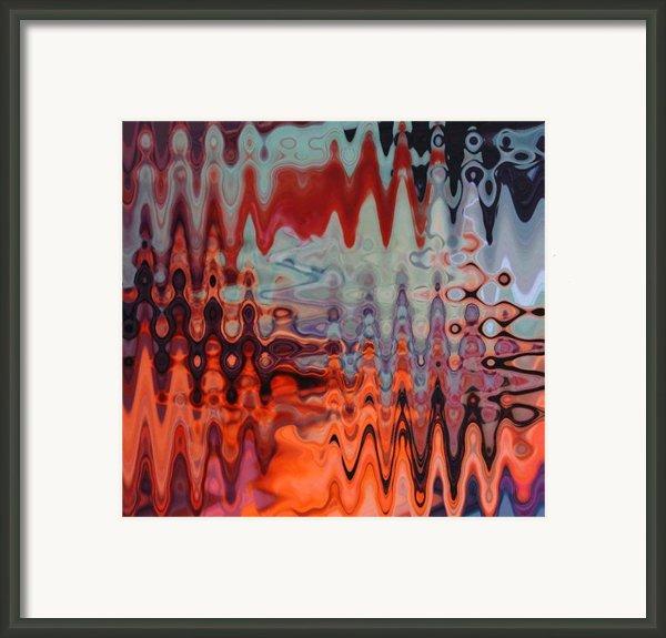 A Blur Of Colors Framed Print By Jennifer Morrison Godshalk