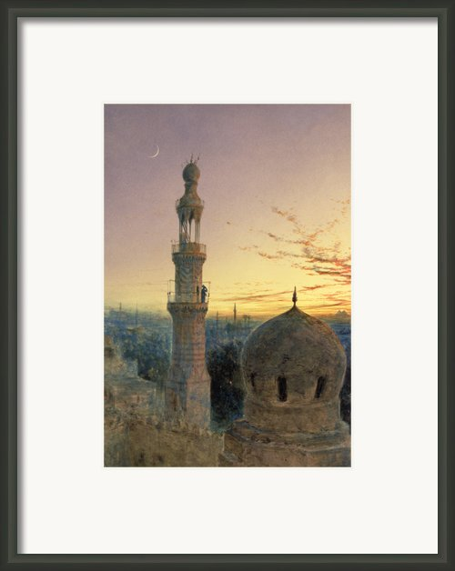 A Call To Prayer Framed Print By Henry Stanier