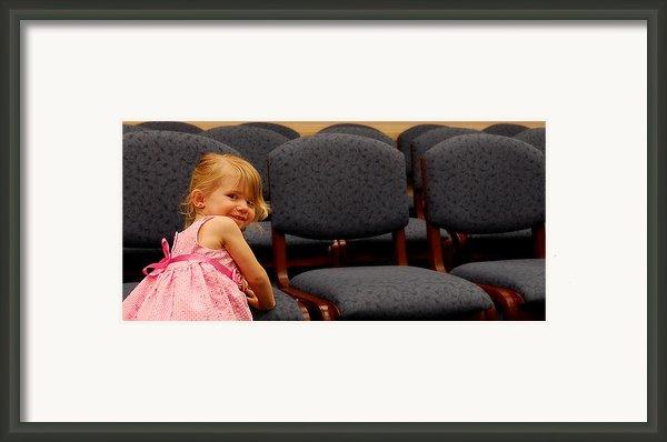 A Chair For Me Framed Print By Steven Milner