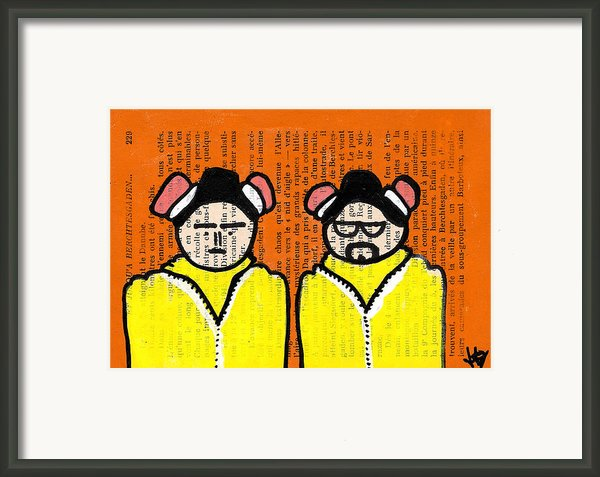 A Couple Of Cooks Framed Print By Jera Sky